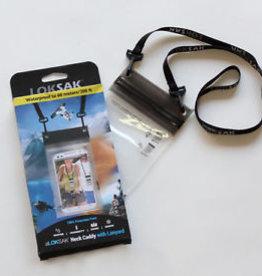 "Loksak Loksak 3.9"" x 7"" Bag With Double Zipper and Lanyard"