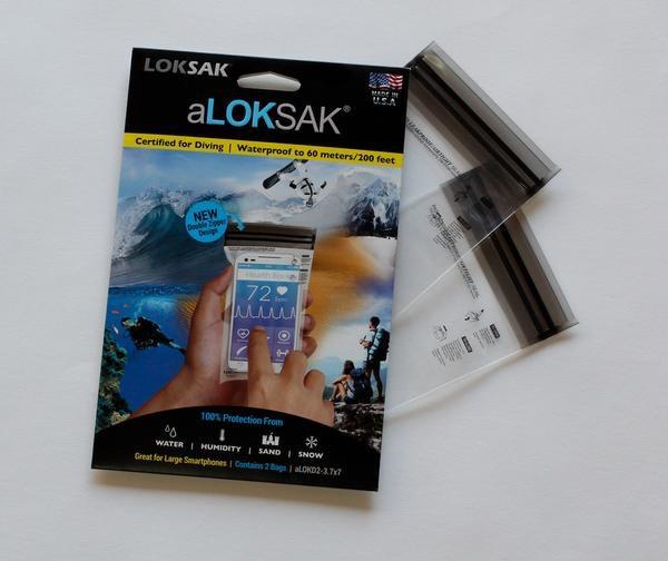 "Loksak Loksak 1 each of 3.7"" x 7"", 4"" x 7"", 6"" x 9"", 8"" x 11"""