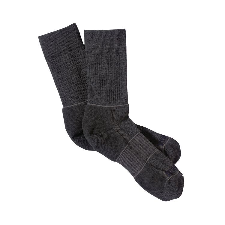 Patagonia Patagonia Light Weight Merino Hiking Crew Socks, FGE, M