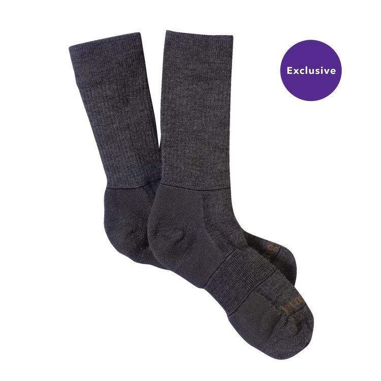 Patagonia Patagonia Mid Weight Merino Hiking Crew Socks, FGE, M