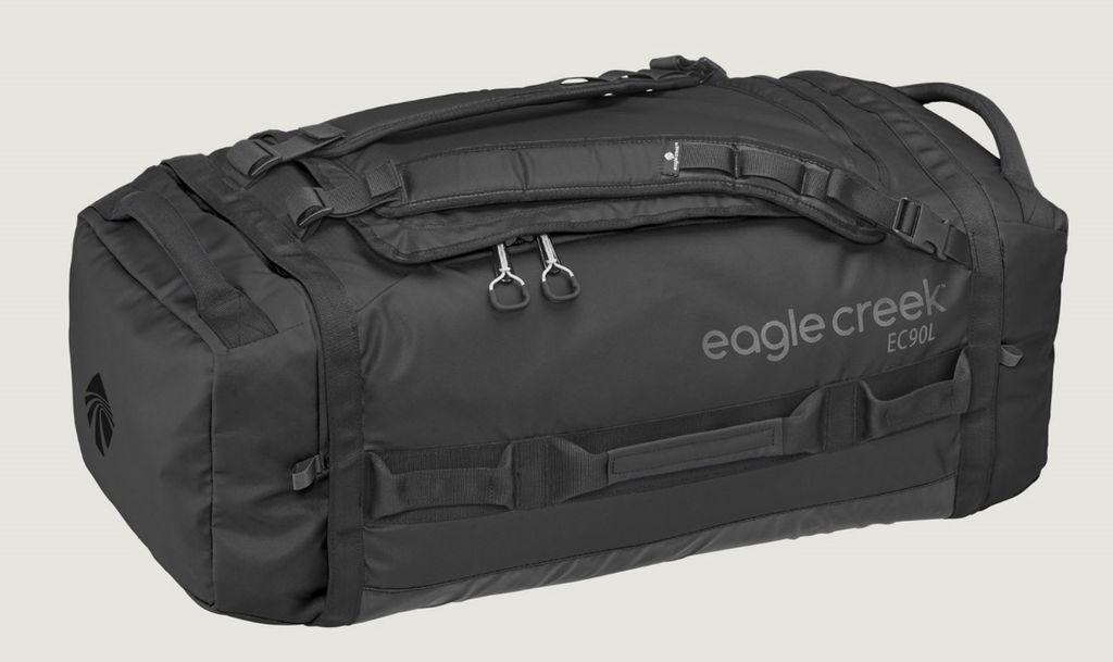 Eagle Creek EAGLE CREEK CARGO HAULER ROLLING DUFFEL 90L(BLACK)