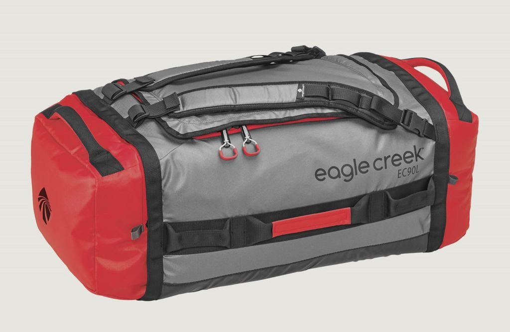 Eagle Creek EAGLE CREEK CARGO HAULER ROLL DUF 90L (CHERRY/GRY)
