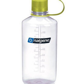 Nalgene Nalgene 32oz N/M 2078-2033 clear w/ green cap