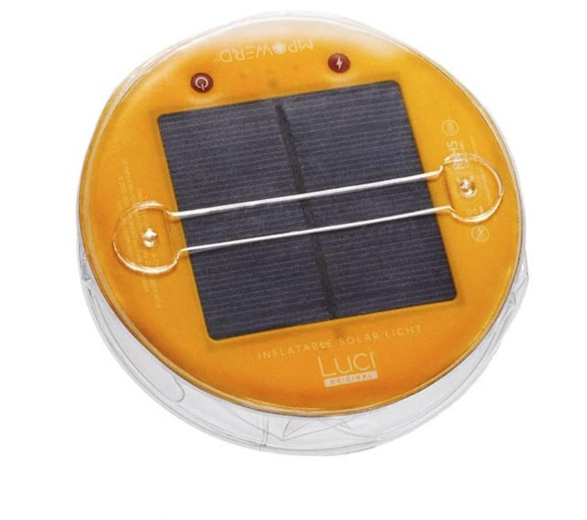 Luci Luci Outdoor  Inflatable Solar Lantern