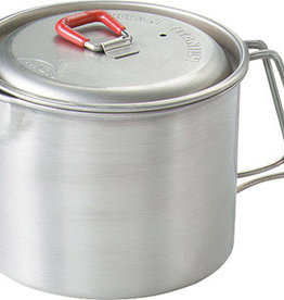MSR Ultralight titanium with pot, mug, or bowl versatility.<br /> <br /> Versatile enough to be a pot, mug or bowl, this ultralight titanium kettle complements the Titan 2 Pot Set perfectly. The Kettle holds .85 liters of liquid and comes with a tight-fitting lid and dri