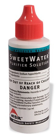 MSR MSR Sweet Water Purifier Solution Replacement
