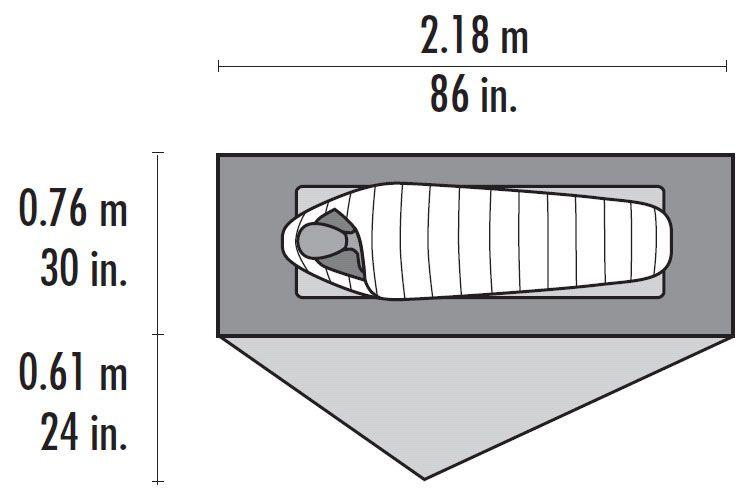 MSR MSR Footprint, FreeLite 1