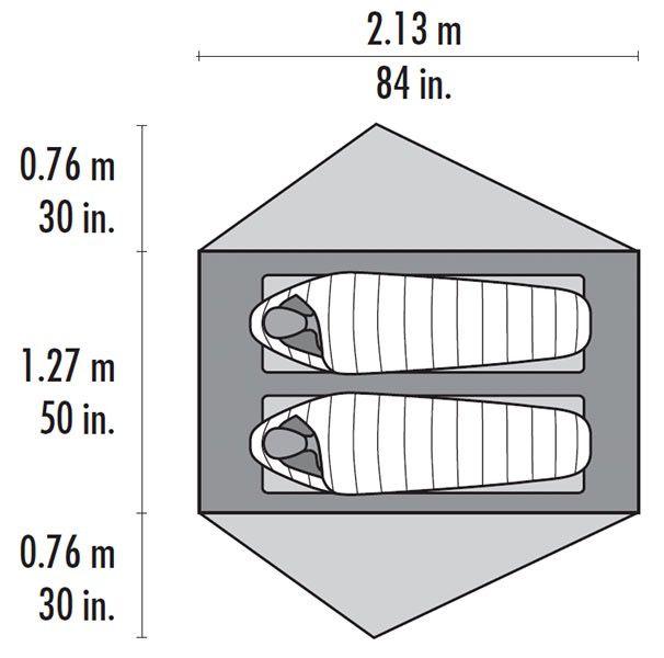MSR MSR Footprint, FreeLite 2