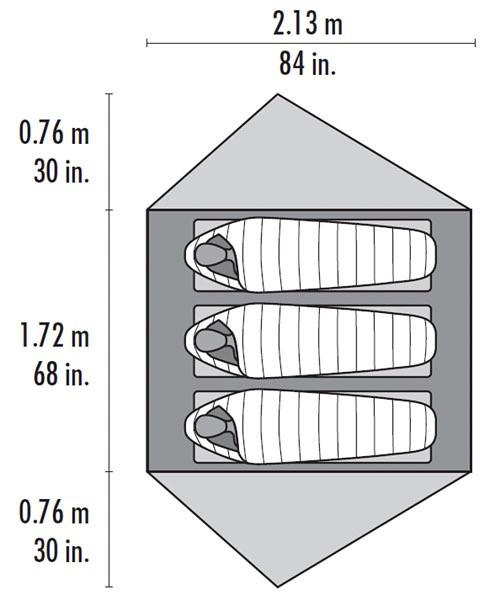 MSR MSR Footprint, FreeLite 3
