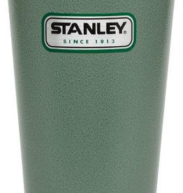 Stanley Stanley Classic Vacuum Pint Glass, Hammertone Green, 473ML