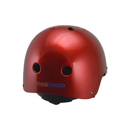 Kiddimoto Kinderhelm Metallic Red Medium