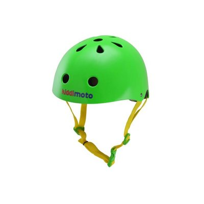 Kiddimoto Kinderhelm Neon Green Small