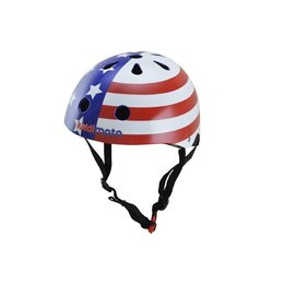Kiddimoto Kinderhelm USA Flag Small