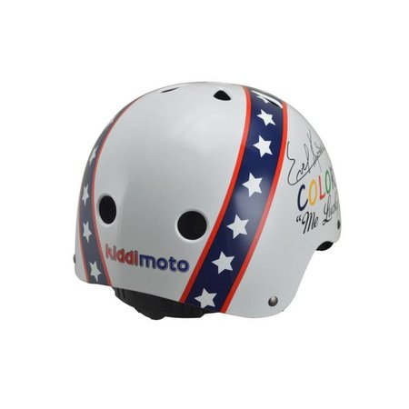 Kiddimoto Kinderhelm Hero Evel Medium