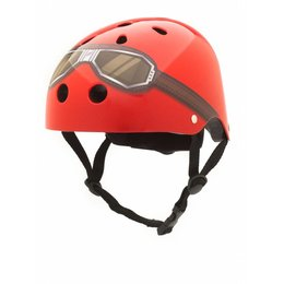 CoConuts Kinderhelm Red Goggle Small