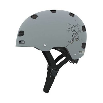 ABUS Kinderhelm Scraper Kid v.2 Grey Ride S