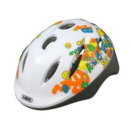 ABUS Kinderhelm Smooty Smiley White S