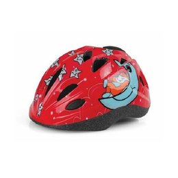 Polisport Kinderhelm Sleepy Bear Red