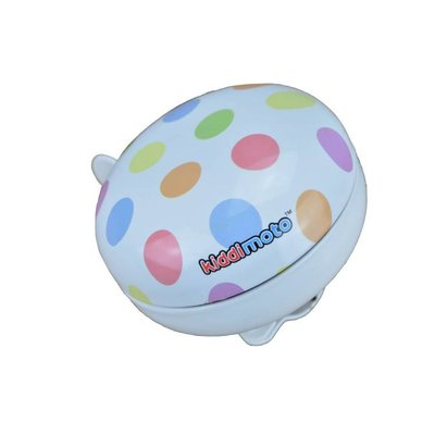 Kiddimoto Kinderfietsbel Ding Dong Small Pastel Dotty