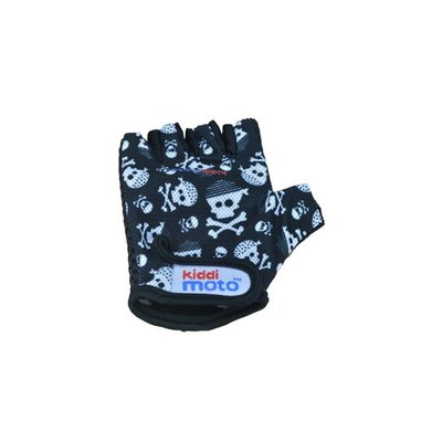 Kiddimoto Kinderfietshandschoen Skullz Medium