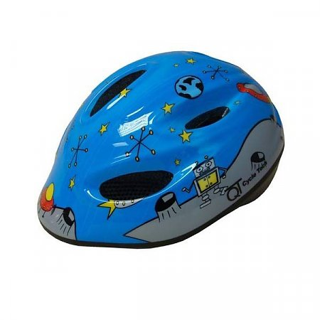 Kinderhelm QT Blue Space