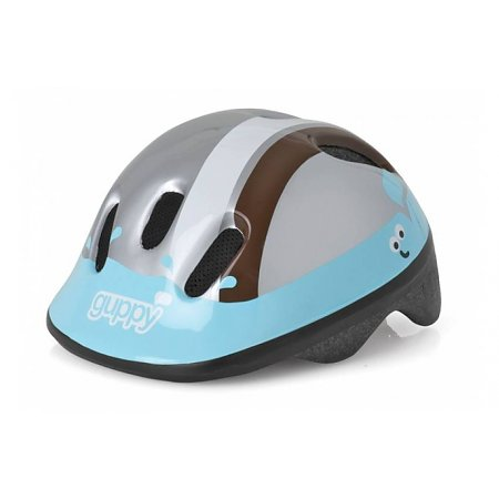 Polisport Babyhelm Little Guppy Blue Brown