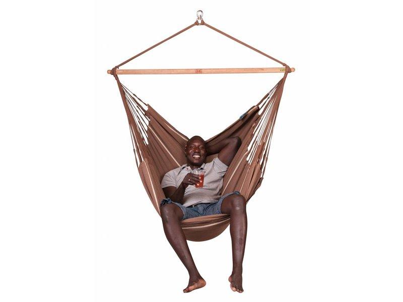 La Siesta Hangstoel Tweepersoons Habana Chocolate