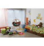 La Siesta Kinderhangstoel 'Kid's Globo' Terracotta