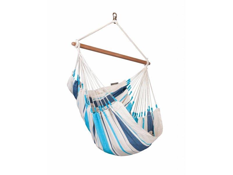 Hangstoel Eenpersoons Caribeña Aqua Blue