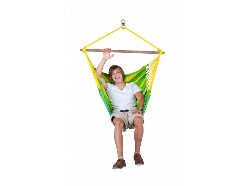La Siesta Hangstoel Eenpersoons Sonrisa Lime