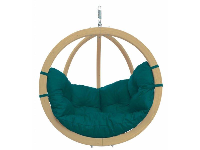 Hangstoel Eenpersoons 'Globo' Green