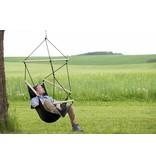 Amazonas Hangstoel Eenpersoons 'Swinger' Black