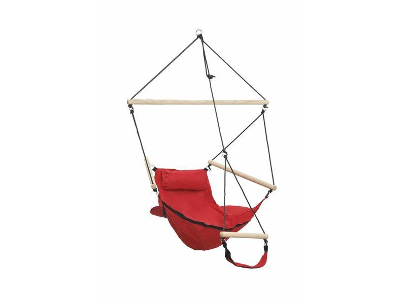 Hangstoel Eenpersoons 'Swinger' Red