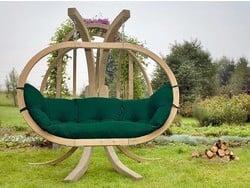 Hangstoelset 'Globo Royal' Weatherproof Green