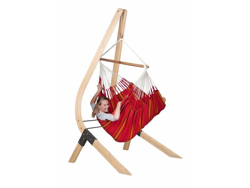 Hangstoelset 'Vela' Lounger Cherry