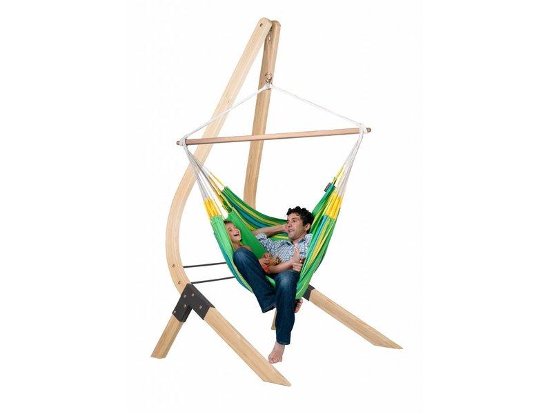 Hangstoelset 'Vela' Lounger Kiwi