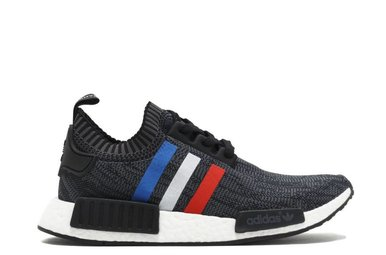 "Adidas NMD R1 PK ""TRI COLOR"" Black"
