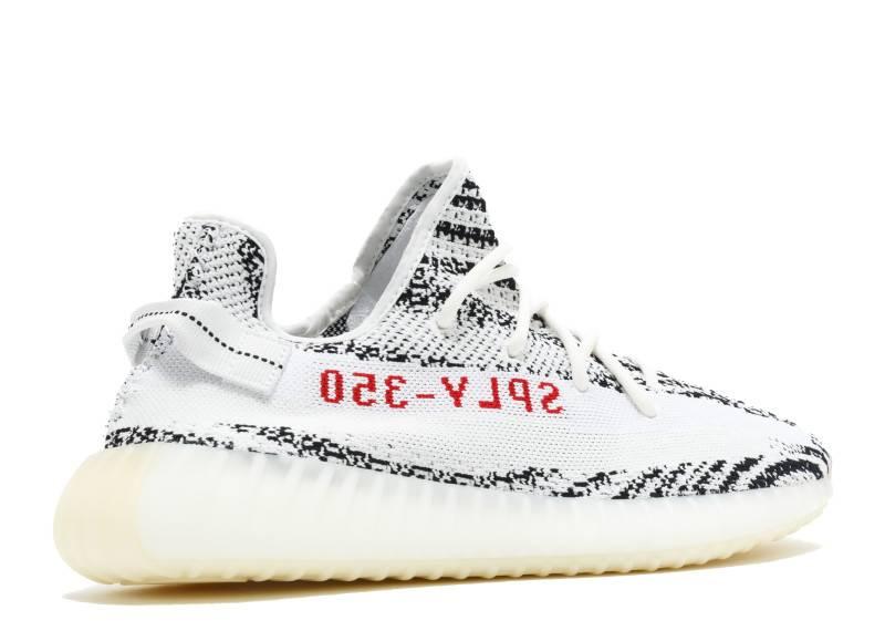 "Adidas  Adidas Yeezy Boost 350 v2 ""ZEBRA"""