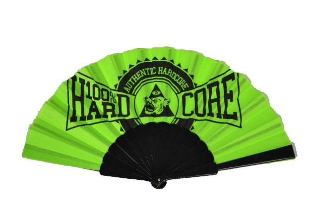 100% Hardcore 100% Hardcore waaier neon Authentic
