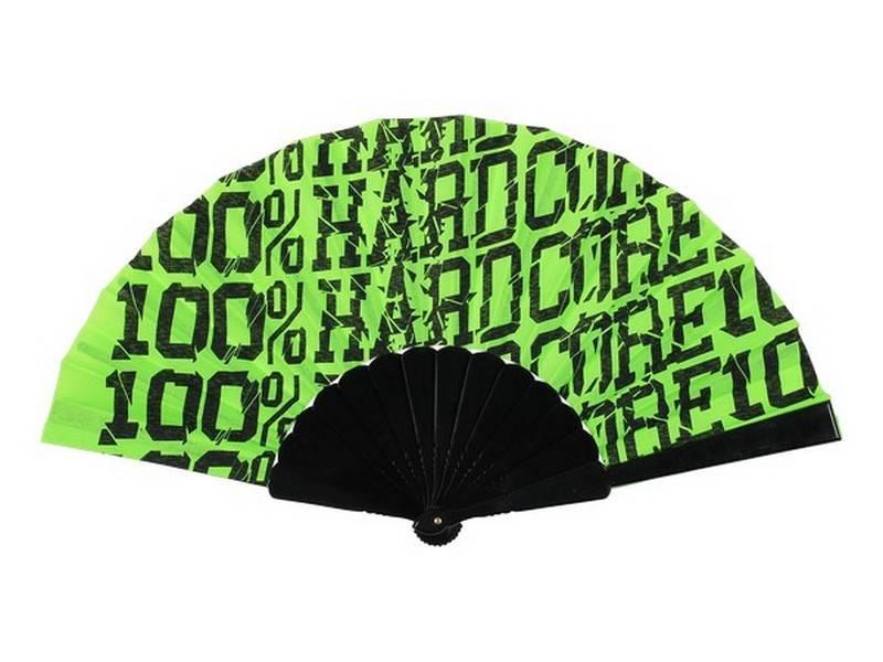 100% Hardcore 100% Hardcore waaier Fluor Green