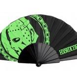 100% Hardcore 100% Hardcore waaier zwart/groen Hockey Mask