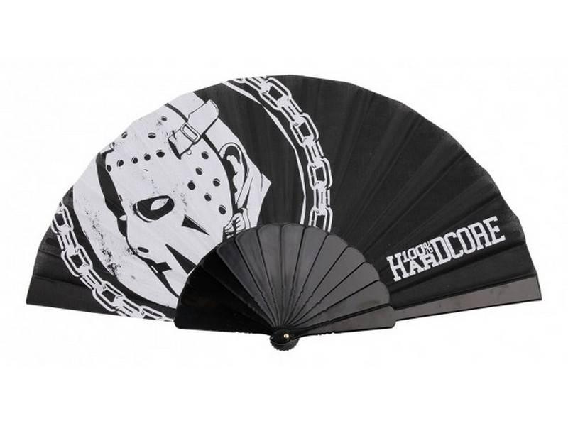 100% Hardcore 100% Hardcore waaier zwart/wit Hockey Mask