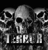 Terror Terror vlag Melting Skulls