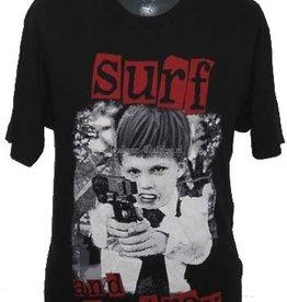 Terror Worldwide Rock t-shirt zwart surf & destroy