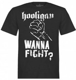 Hooligan Streetwear Hooligan t-shirt zwart Fist