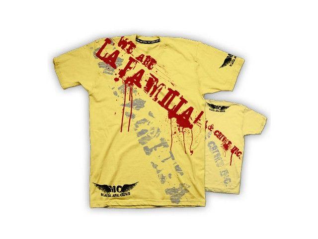 Mafia & Crime Mafia & Crime t-shirt La Familia