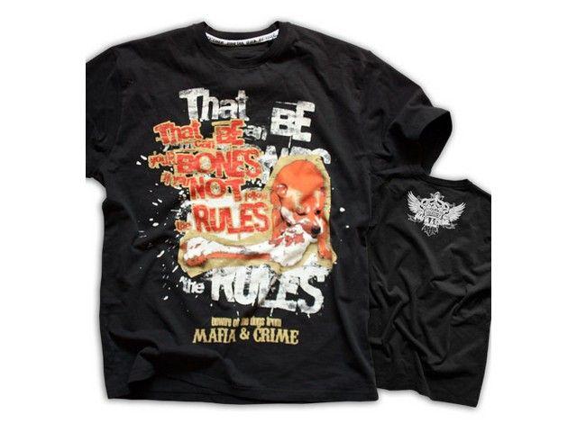 Mafia & Crime Mafia & Crime t-shirt Rules