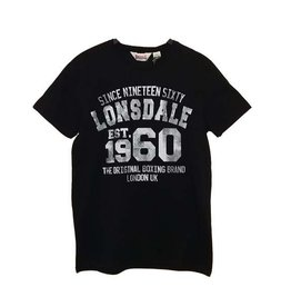 Lonsdale Lonsdale t-shirt zwart Liverpool