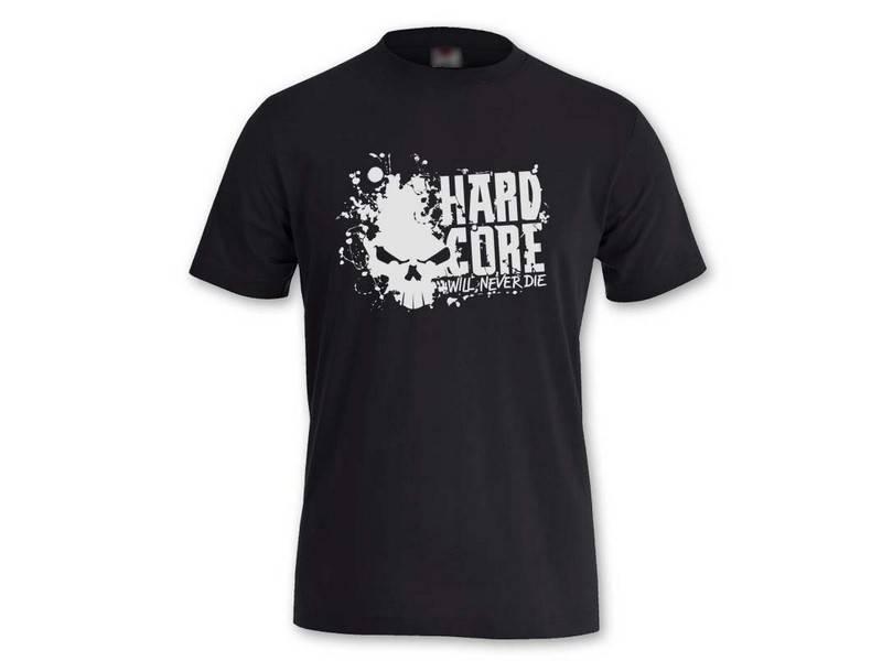 Hardcore Hardcore t-shirt Never Die