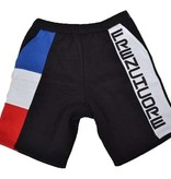 Frenchcore Frenchcore jogging short Red Blue Line